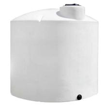 3,000 Gallon White HDPE Vertical Storage Tank