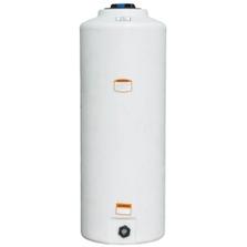 105 Gallon White HDPE Vertical Storage Tank