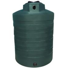 1,350 Gallon Dark Green HDPE Vertical Water Storage Tank