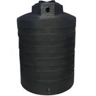 1,350 Gallon Black HDPE Vertical Water Storage Tank