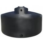 550 Gallon Dark Green HDPE Vertical Water Storage Tank