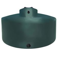 1,550 Gallon Dark Green HDPE Vertical Water Storage Tank