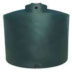 """2,500 Gallon Dark Green HDPE Vertical Water Storage Tank, 95"""" x 91"""""""