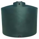 "3,000 Gallon Dark Green HDPE Vertical Water Storage Tank, 95"" Dia. x 109"" H"