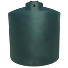 5,000 Gallon Dark Green HDPE Vertical Water Storage Tank
