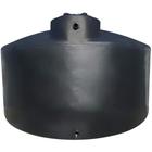 5,000 Gallon Black HDPE Vertical Water Storage Tank (Tuna Can)