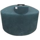 1,100 Gallon Dark Green HDPE Vertical Water Storage Tank (California Version)