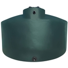 5,000 Gallon Dark Green HDPE Vertical Water Storage Tank (California Version) (Tuna Can)