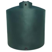 10,000 Gallon Dark Green HDPE Vertical Water Storage Tank (California Version)