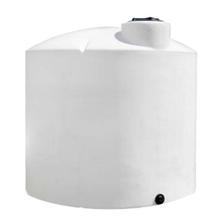 4,200 Gallon White HDPE Vertical Storage Tank