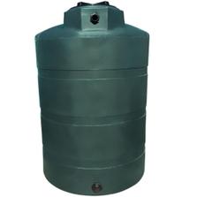 1,000 Gallon Dark Green HDPE Vertical Water Storage Tank