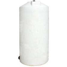 250 Gallon White HDPE Vertical Storage Tank