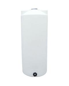 200 Gallon White HDPE Vertical Storage Tank