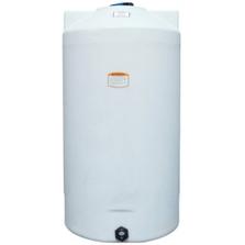 150 Gallon White HDPE Vertical Storage Tank