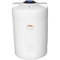 75 Gallon White HDPE Vertical Storage Tank