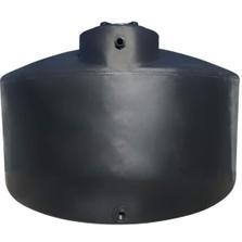 "3,000 Gallon Black HDPE Vertical Water Storage Tank, 102"" Dia. x 93"" H"