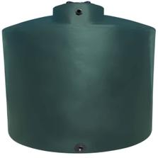"5,000 Gallon Dark Green Vertical Water Storage Tank, 119"" Dia. x 112"" H (California Version) (Peanut Can)"