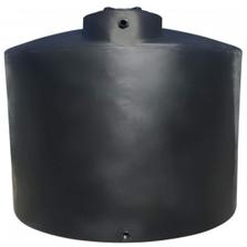 "5,000 Gallon Black Vertical Water Storage Tank, 119"" Dia. x 112"" H (Peanut Can)"
