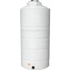 850 Gallon White HDPE Vertical Storage Tank
