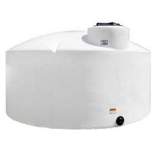 2,500 Gallon White HDPE Vertical Storage Tank