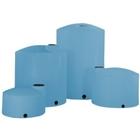 2,500 Gallon Blue HDPE Vertical Storage Tank (Heavy Weight)