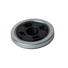 "2"" Rieke Polygrip Fusible Closure w/3/4"" Reducer for Metal IBCs"