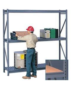 Additional Shelf for Gray Bulk Corrugated Steel Decking Rack