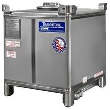 300 Gallon Stainless Steel IBC Tank