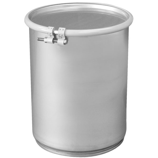 5 Gallon Stainless Steel Drum Un Rated Cover Amp Bolt Ring