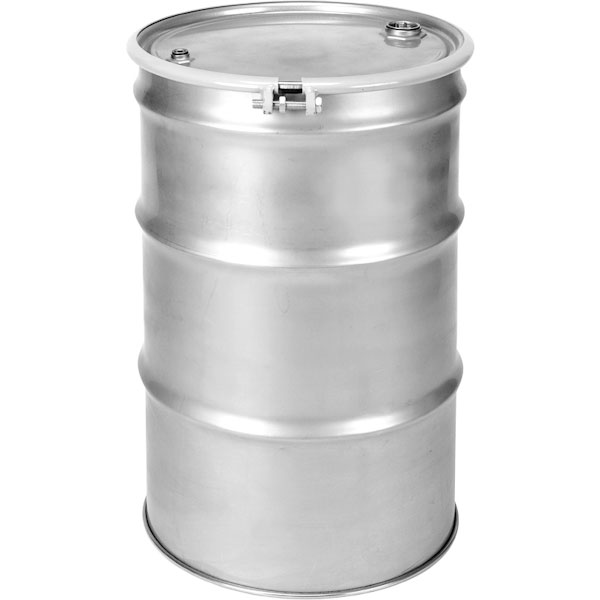 55 Gallon Stainless Steel Drum Un Rated Bolt Ring 2