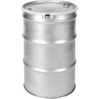 """55 Gallon Stainless Steel Drum, UN Rated, 2"""" & 3/4"""" Fittings"""