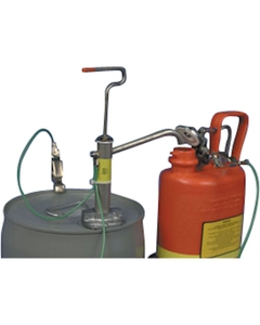 316 Stainless Steel Pail Safety Pump with Spout Adapter