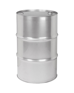 """30 Gallon Tight Head Stainless Steel Drum, UN Rated, 2"""" & 3/4"""" Fittings"""