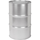 """55 Gallon Tight Head Stainless Steel Drum, UN Rated, 2"""" & 3/4"""" Fittings (18 gauge)"""