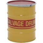 10 Gallon Steel Salvage Drum, Cover w/Lever Lock Ring Closure