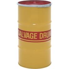 16 Gallon Steel Salvage Drum, Cover w/Lever Lock Ring Closure