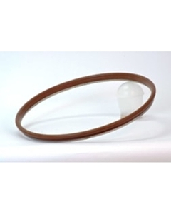 """22-1/2"""" Viton Lid Gasket for Food Grade Stainless Steel IBC Tanks, No Seam"""