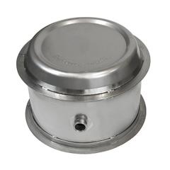30 Gallon Stainless Steel Wine Barrel w/ 2
