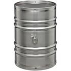 "55 Gallon Stainless Steel Wine Barrel w/2"" Tri-Clover"