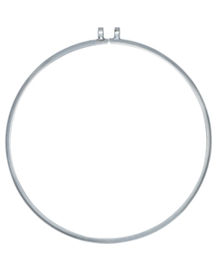 """22-1/2"""" Bolted Clamp Ring for Carbon & Stainless Steel IBC Tank Lids, Zinc Plated Steel"""