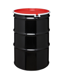 85 Gallon TIH Steel Overpack Drum w/Bolt Ring Closure