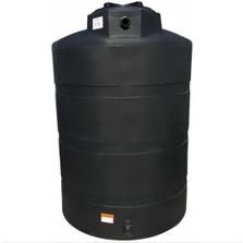 500 Gallon Black HDPE Vertical Water Storage Tank