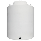 10,000 Gallon White HDPE Vertical Storage Tank