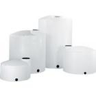 "1,550 Gallon White HDPE Vertical Storage Tank w/Gusset Top, 87"" x 53"""