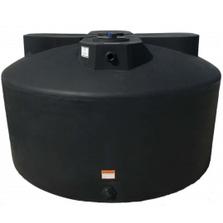1,075 Gallon Black HDPE Vertical Water Storage Tank