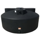 1,525 Gallon Black HDPE Vertical Water Storage Tank