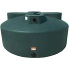 1,525 Gallon Dark Green HDPE Vertical Water Storage Tank