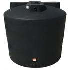 2,550 Gallon Black HDPE Vertical Water Storage Tank