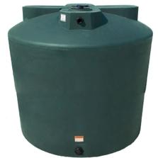 2,550 Gallon Dark Green HDPE Vertical Water Storage Tank