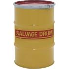 30 Gallon Steel Salvage Drum, Cover w/Lever Lock Ring Closure